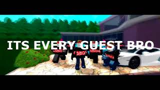 IF A GUEST SING ITS EVERY DAY BRO [ROBLOX/GUEST DISSTRACK?!]
