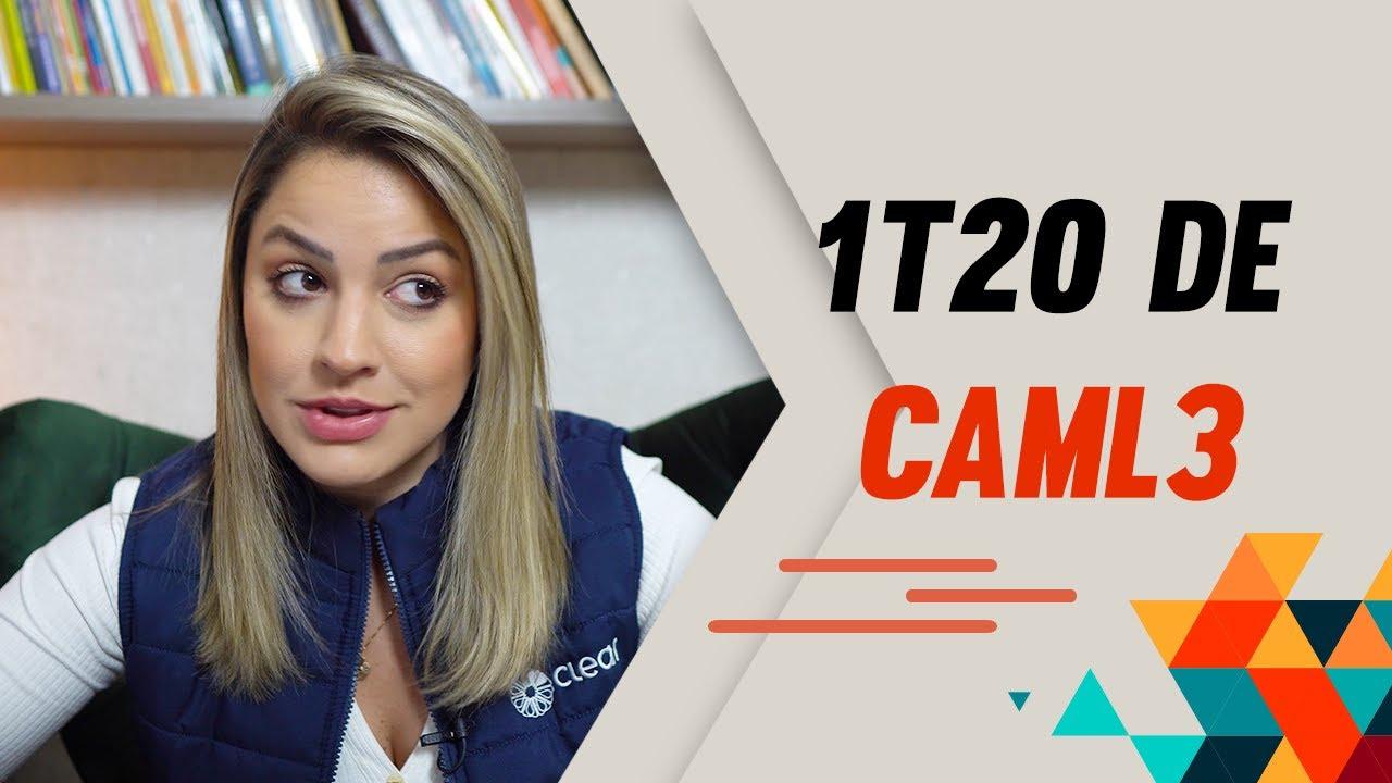 CAML3 e um 1T20 superando a crise do Coronavírus