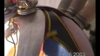 1bis - Motore rotativo sferico a pistone oscillante G. Caoduro - Rotary piston engine
