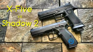 CZ Shadow 2 vs Sig Sauer X-Five - If I Could Only Have One...