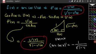 Ters trigonometrik fonksiyonların türevlerinin ispatları Video