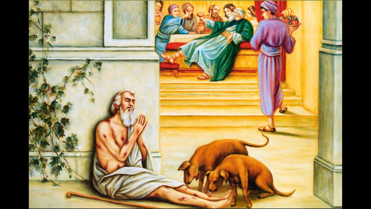 Resultado de imagem para Parábola do rico e Lázaro
