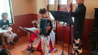 La Foule Accordion - mayuko fukuda flute - wataru kobayashi 群衆 ア...