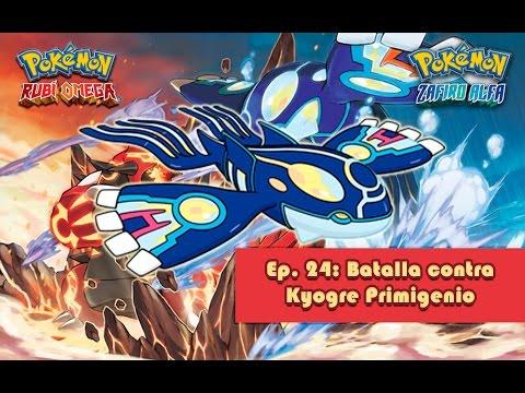 Ep. 24: Batalla contra Kyogre Primigenio - Pokémon RO/ZA