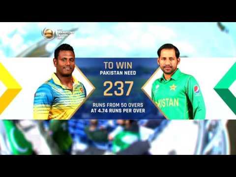 Pakistan Vs Srilanka|ICC Champions Trophy 2017|Group B Match 12 thumbnail