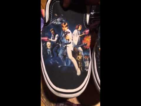 Vans x Star Wars - A New Hope (Classic Slip-On) Review - YouTube c1b9041e98