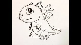 Spee Draw Baby Fire Dragon from Dragonvale