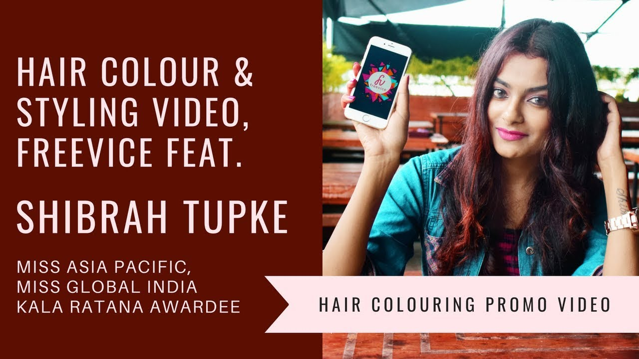 Promo Video Freevice Feat Miss Asia Pacific In Hair Color Hair