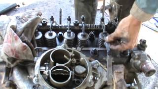 видео Регулировка клапанов 402 двигатель