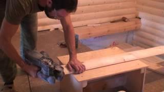 видео Блок хаус своими руками изготовление