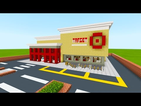 """Minecraft Tutorial: How To Make A Target Store """"2019 City Tutorial"""""""