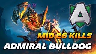AdmiralBulldog Mid Clinkz 26 kills | Dota 2 Pro Gameplay
