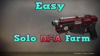 *EASY* | Solo D.F.A Farm | Under 10 Min Per Run!
