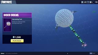 NEW DISCO BALL PICKAXE! New Funky Character Finally Here! Fortnite Battle Royale Skins!