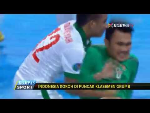 Timnas Futsal Indonesia U-20 Tahan Imbang Vietnam