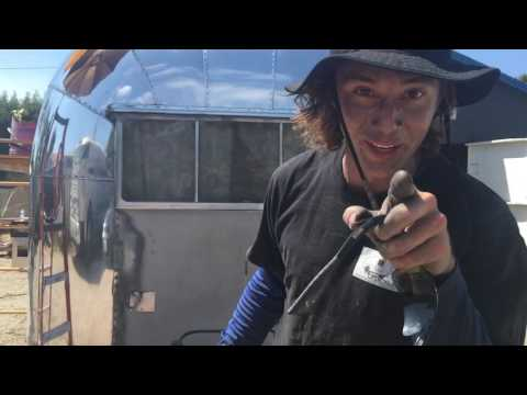 How to polish an Airstream