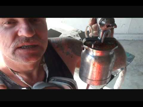 How To Spray Metal Flake Paint The Easy Way. Part 2
