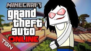 MINECRAFT | GTA 5 ONLINE: LA BATALLA ÉPICA W/BERSGAMER (Grand Theft Auto en Minecraft)