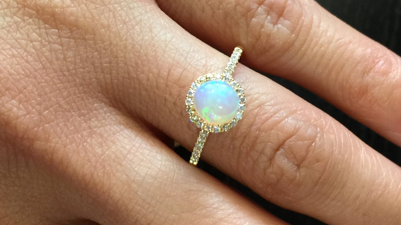 fire retro gemstone silver simple rings ring jewelry engagement wedding diamond sterling opal natural set big