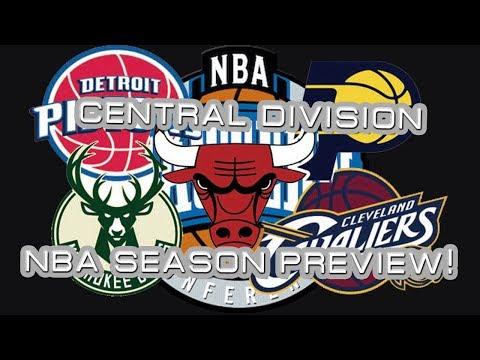 CENTRAL DIVISION BREAKDOWN! Pistons Bucks Bulls Pacers Cavs!!