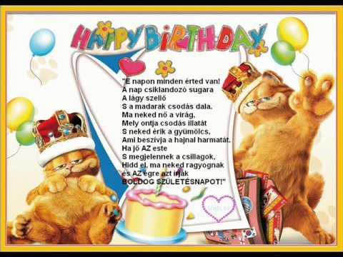 boldog szülinapot 18 BOLDOG 18. SZÜLINAPOT LIVIA :)))   YouTube boldog szülinapot 18