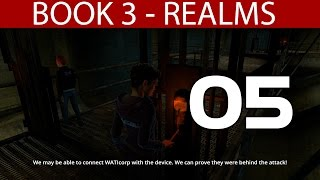 """Dreamfall Chapters Book 3 Realms - Part 5 """"Tunnels & Beeping Device"""" Walkthrough 1080p60fps PC"""