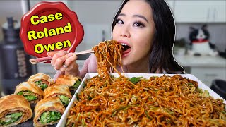 THE ORIGINAL CHINESE BLACK BEAN NOODLES 짜장면 MUKBANG | Eating Show