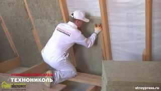 видео Звукоизоляция потолка, стен, пола в деревянном доме