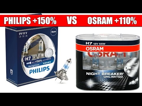 philips racingvision vs osram night breaker laser. Black Bedroom Furniture Sets. Home Design Ideas