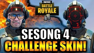 SEASON 4 CHALLENGE SKIN (hard to get hold of) 🔥 | Norwegian Fortnite