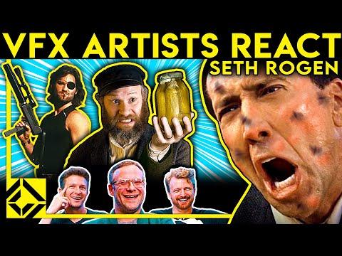 VFX Artists React to Bad & Great CGi 54 (ft. SETH ROGEN)