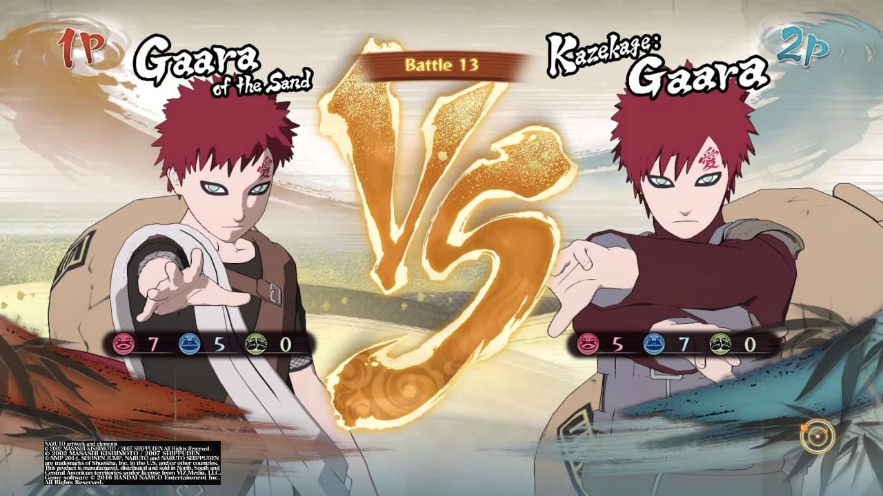 NARUTO SHIPPUDEN™: Ultimate Ninja® STORM 4 Kid Gaara vs ... Gaara And Naruto Kids