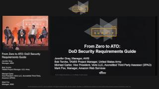 From Zero to ATO: DoD Security Requirements Guide