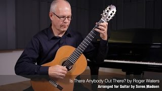 Is There Anybody Out There?(Pink Floyd) - Danish Guitar Performance - Soren Madsen