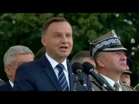 Mocne słowa prezydenta Dudy – Święto Wojska Polskiego 16.08.2017