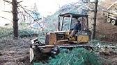 Komatsu d21p-6 - Drive motor fluid service - YouTube
