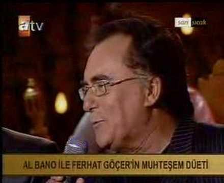 Al Bano -Santa Lucia live at SARI SICAK in Turkey
