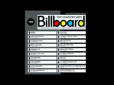 Billboard Top Country Hits  1999