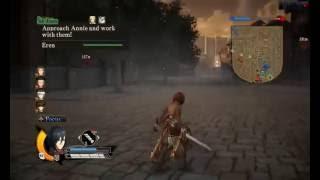 Shingeki No Kyojin Game (PC gameplay) Protect Eren