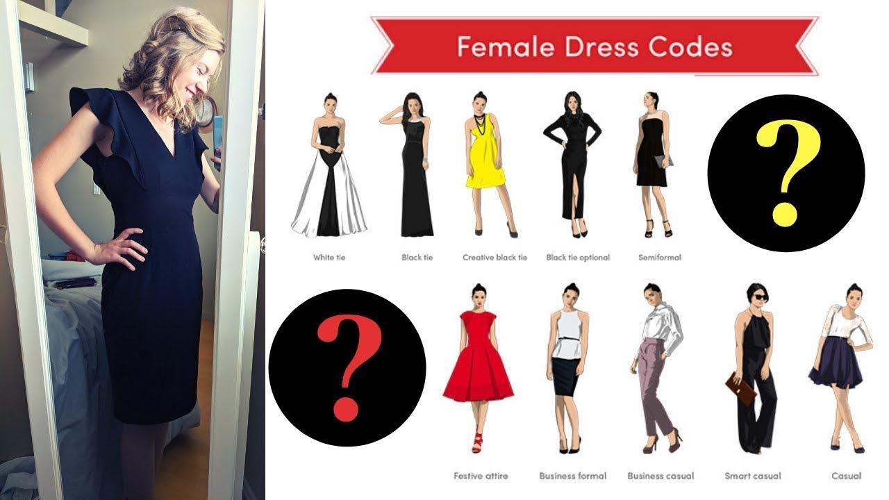 [VIDEO] - Law School Lookbook: Dress Codes 1