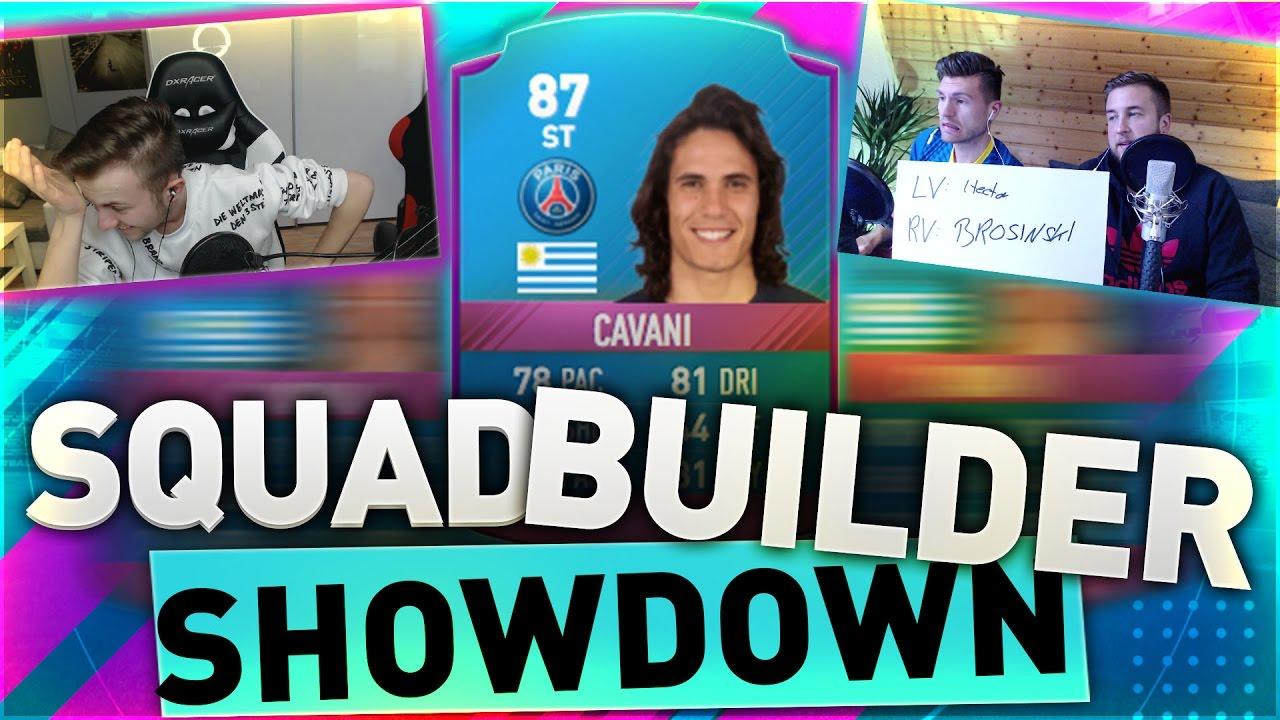 FIFA 17: SBC CAVANI SQUAD BUILDER BATTLE vs GAMERBROTHER !! DIESES SPIEL MÜSST IHR SEHEN !!!😳😱