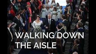 The Royal Wedding: The Bride and The Duke walk down the aisle