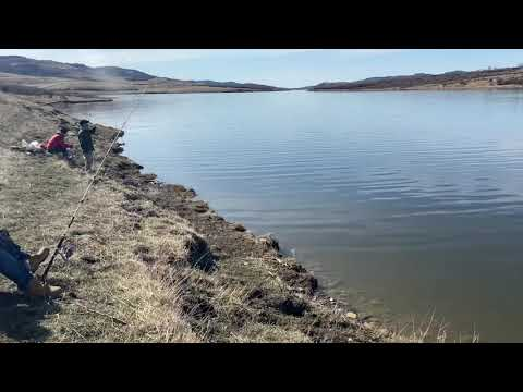 Karen Fishing, Chain Lake, Alberta #2