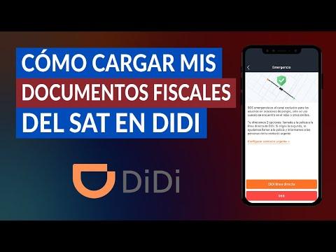 Cómo Cargar mis Documentos Fiscales y Sellos Digitales del SAT en DIDI - Paso a paso