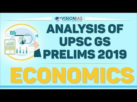 Analysis & Discussion of UPSC GS Prelims 2019   Economics