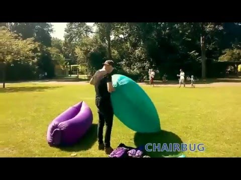 CHAIRBUG Air Deckchair Inflatable Beach Sofa Lounge Deckchair