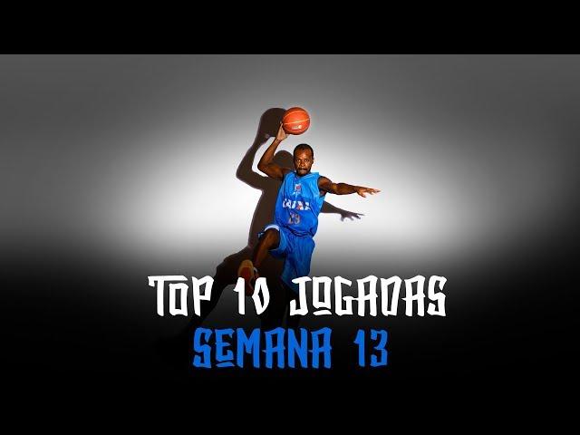 Top10 #NBBCaixa | Semana 13