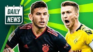 BVB vs. Inter ohne Reus - dafür bald mit Mourinho? Hernandez fehlt FC Bayern lange!