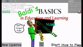 Baldi's basics in Education and Learning | New Update - 1st prize in Roblox