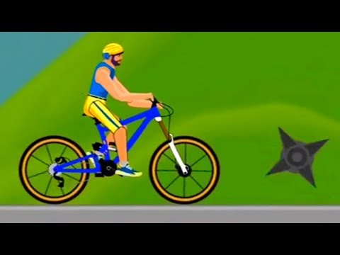 Happy Bike on Wheels #2 Dad and Son Levels 2,3 Walkthrough Part 2 Android Gameplay HD